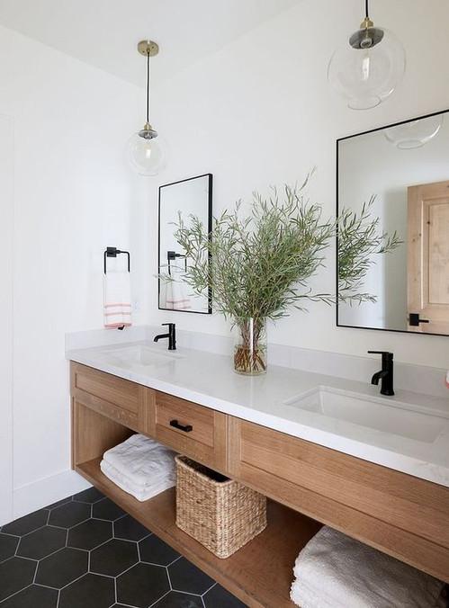 badkamer in hout