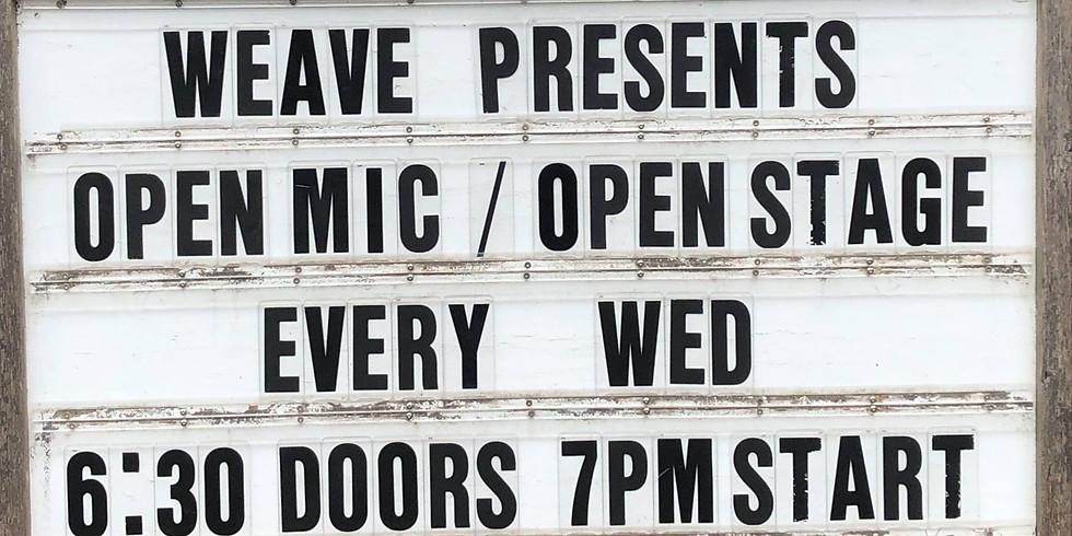 Open Mic Wednesdays