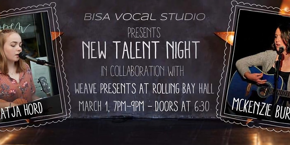 BISA New Talent Night
