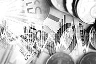 European Economy Concept. Euro Currency