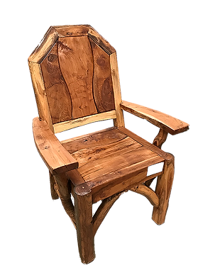 Branch Back Captain Chair