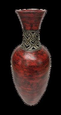 Carolina Red Vase