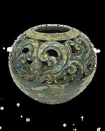 St Augustine Round Pot
