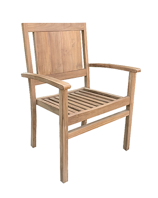 Nouveau stacking chair