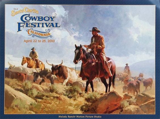 Cowboy Festival Poster