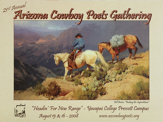 2008 Cowboy Poets Poster