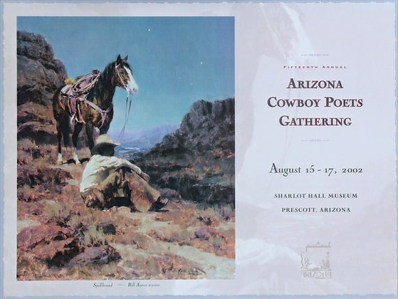 2002 Cowboy Poets Poster