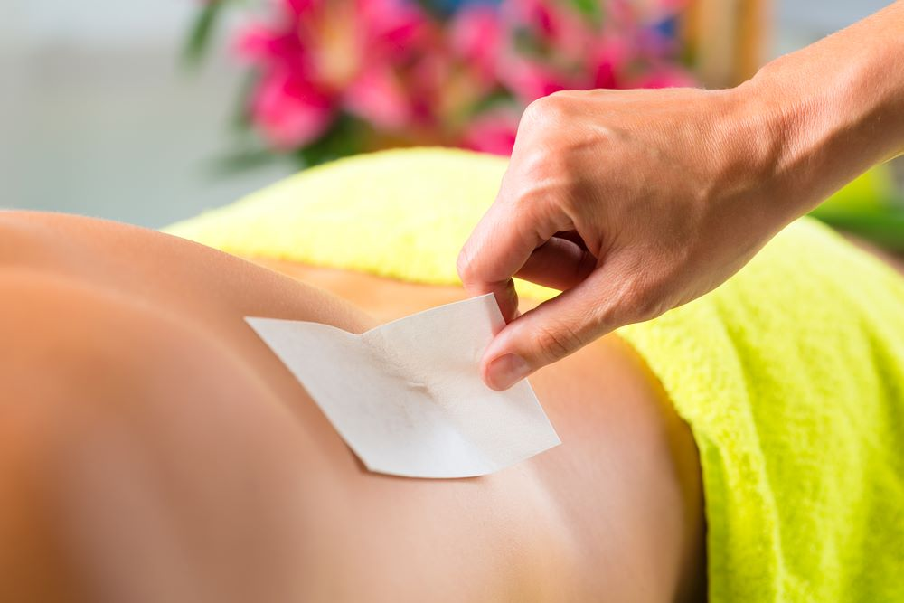 Chest or back waxing
