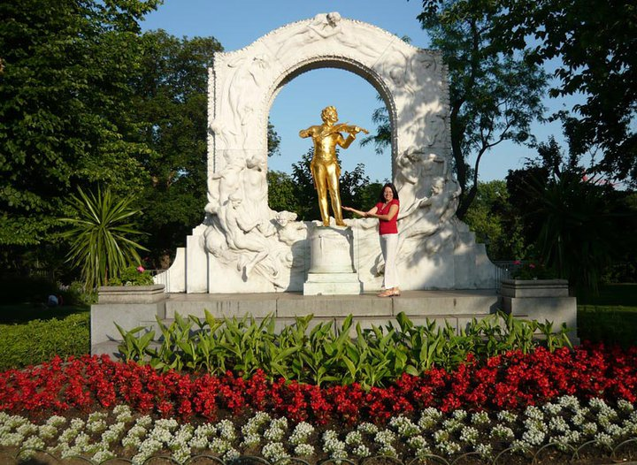 Stadtpark- Johann Strauss