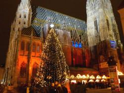 Stephansdom zu Weihnachten
