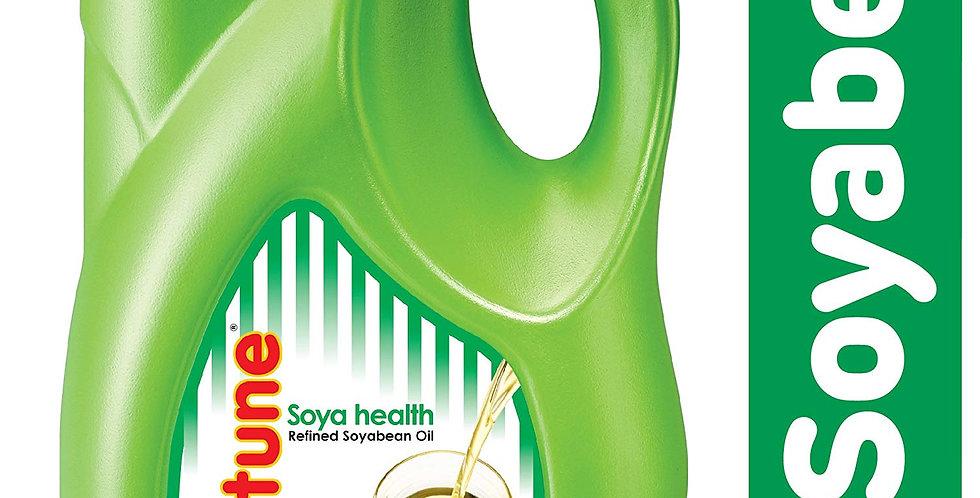 Fortune Soya Health Refined Soyabean Oil (Jar) 5L