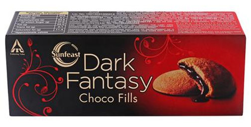 Sunfeast Dark Fantasy Choco Fills Cookies 75 gm