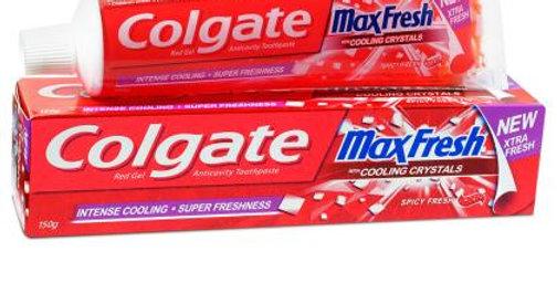 Colgate Max Fresh Spicy Fresh Red Gel Anticavity Toothpaste 150 g