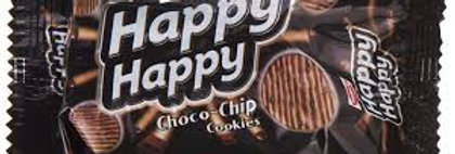 Parle Happy Happy Choco Chip Cookies, 40g, Pack of 12 Pcs