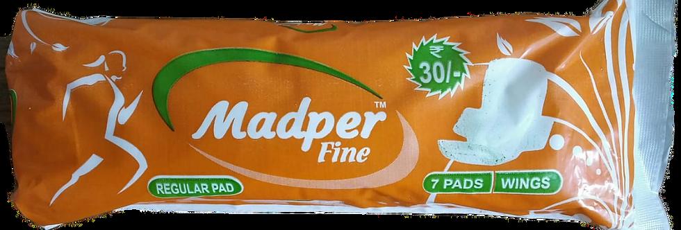 Madper Fine Sanitary Pads | Regular size |