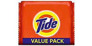 Tide Detergent Bar Soap, 200g (Pack of 5)