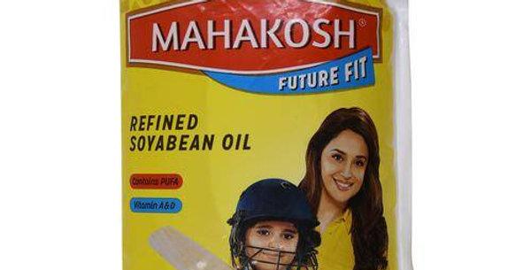 Mahakosh Soyabean Oil, 1 L Pouch