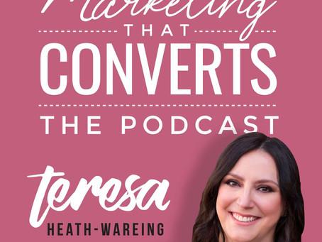 Turn Up The Volume Tuesday 2 - MARKETING THAT CONVERTS - TERESA HEATH-WAREING