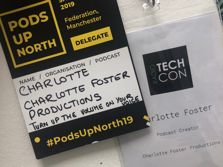 How Pods Up North and Radio Tech Con taught me more than podcasting and radio stuff!