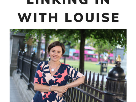 Turn Up The Volume Tuesday 4. LinkedIn With Louise