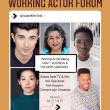 Working Actor Forum