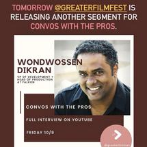 Convos with the Pros: Wondwossen Dikran