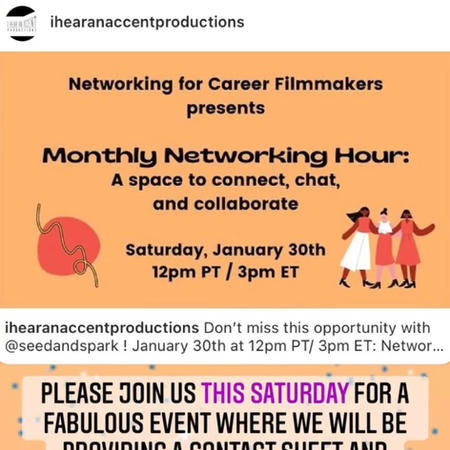 January Networking Hour