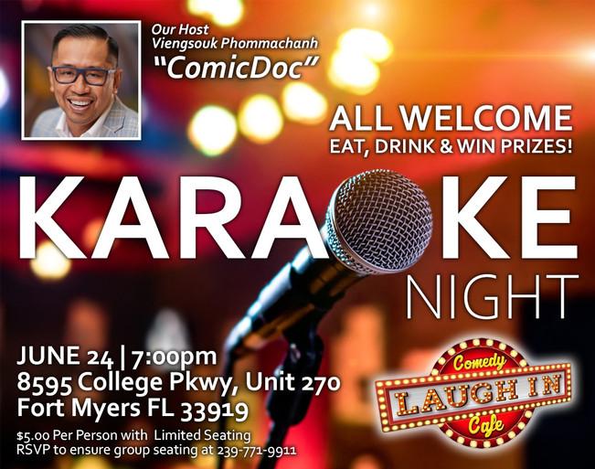 Karaoke Night June 09, 2020