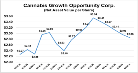 CGOC updates net asset value