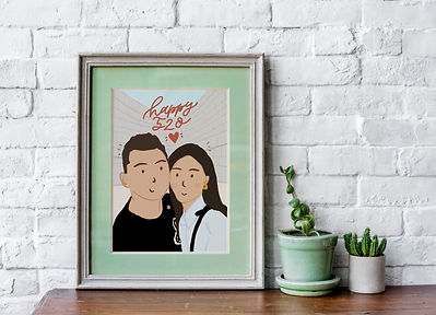 Couple Valentine Portrait