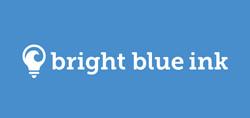 Bright Blue Ink