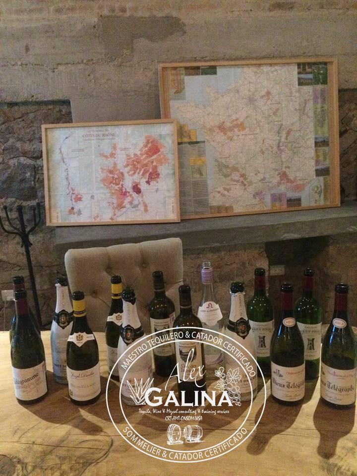 Cata de vinos Top Franceses