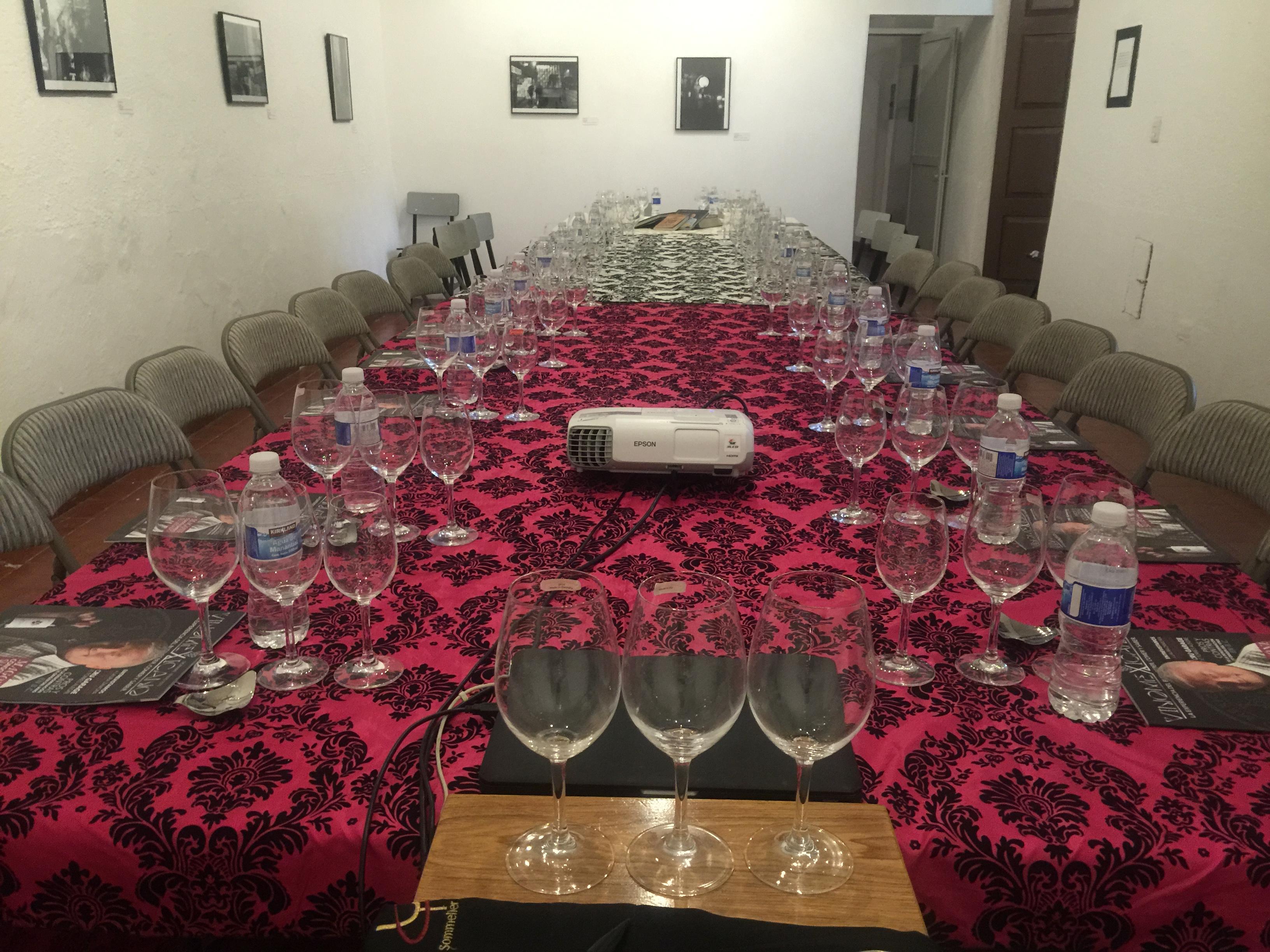 Catas de vinos mexicanos