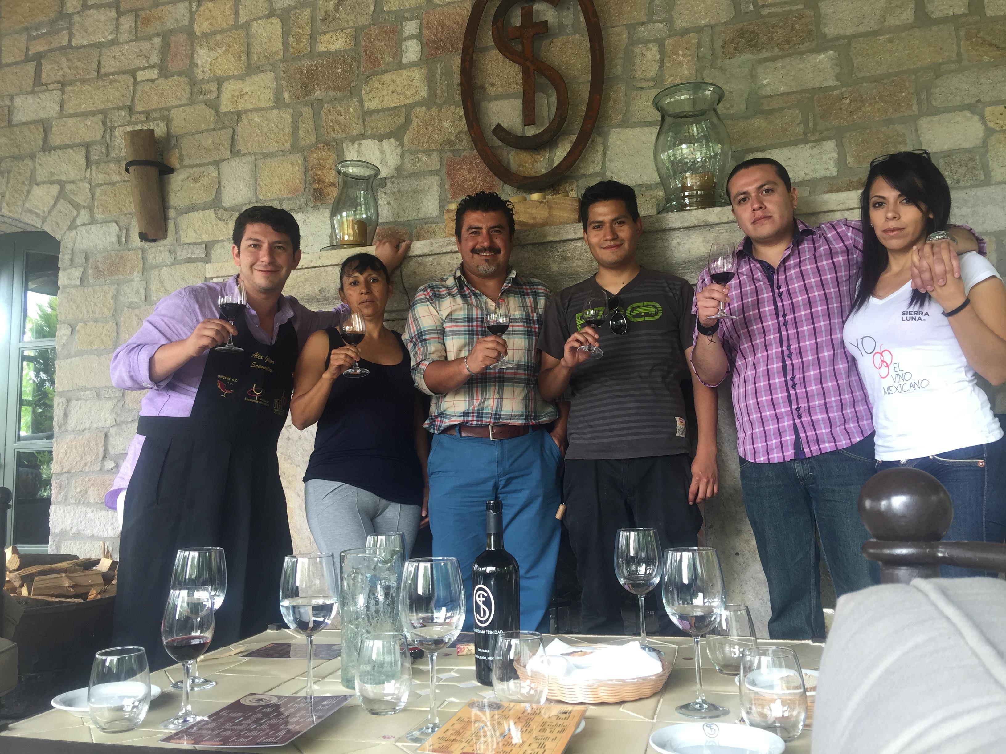 Cata de vino mexicano