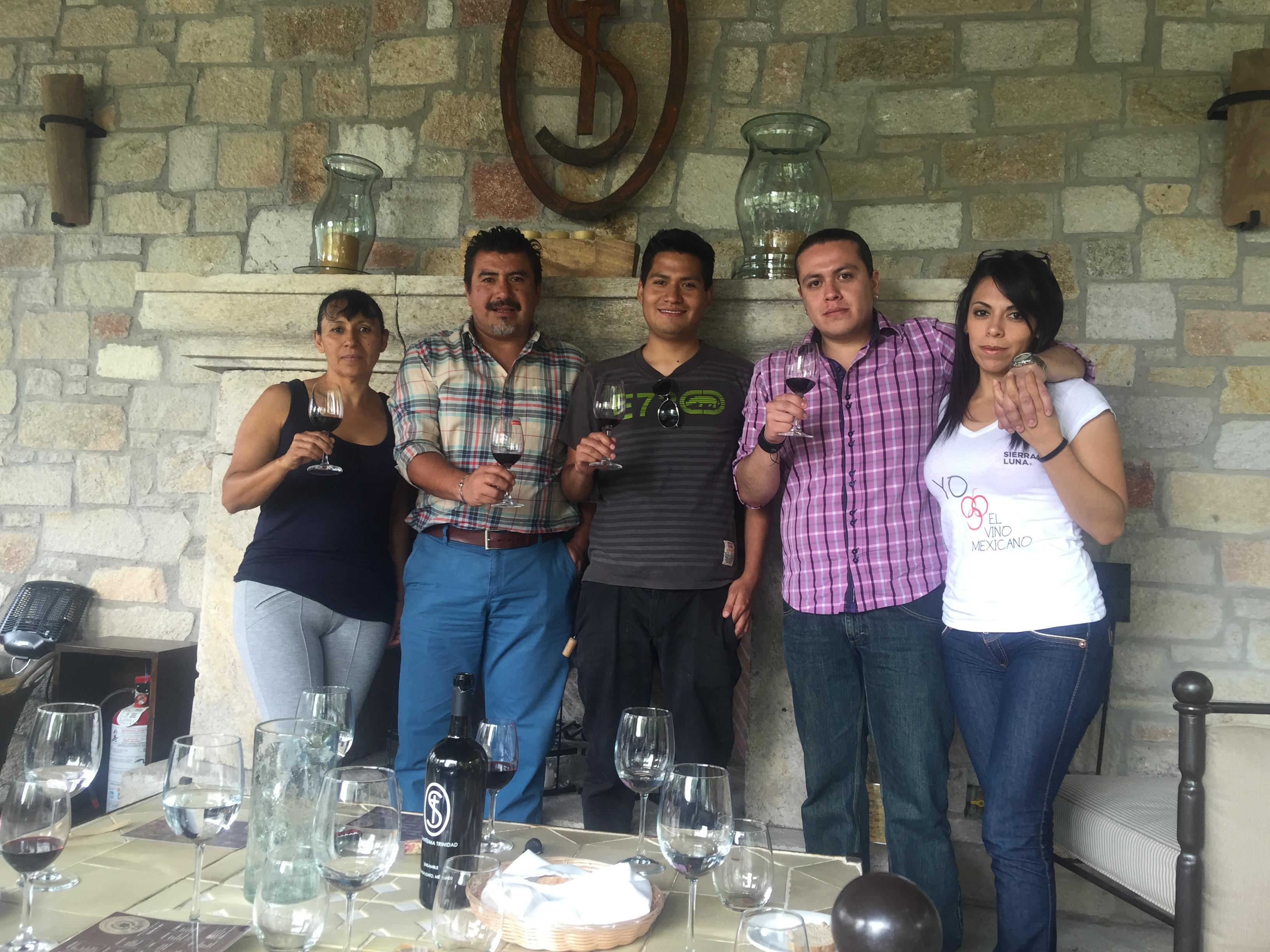 Cata de vinos mexicanos