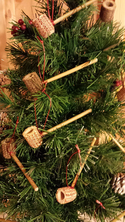 Corn Cob Pipe Christmas Tree Ornament