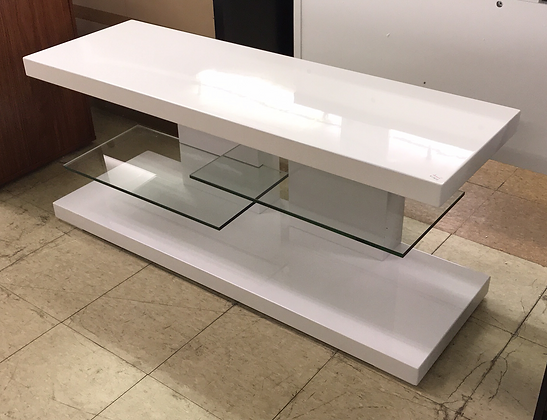 White Gloss Tv Stand