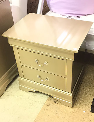 Gold Louis Phillipe Nightstand