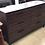 Thumbnail: Dark Finish Rustic Dresser