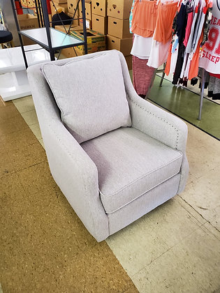 Candlewood Pillow Back Swivel Glider Chair