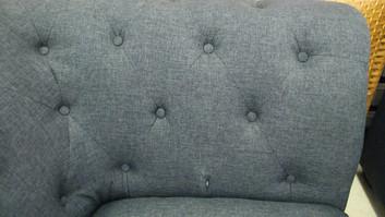 Marled Gray Corner Chair