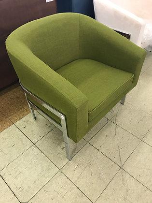 Green Barrel Chair