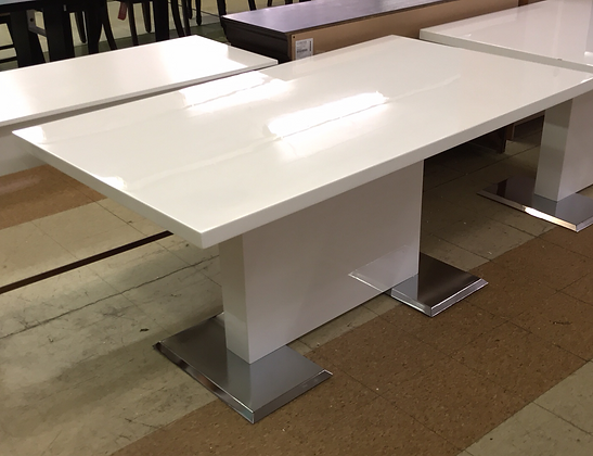White Gloss Table