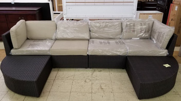 Patio Sofa. Must-Have!