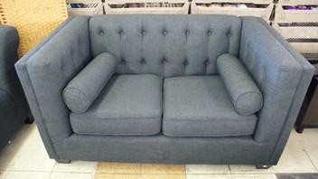 Marled Grey Love Seat