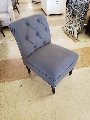 Rollback Tufted Slipper Chair