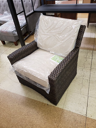 Halsted All Weather Wicker Patio Club Chair