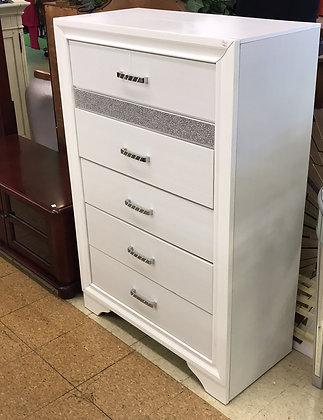 White Sparkle Dresser