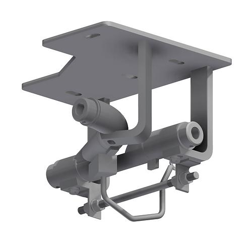 48mm Tubular Rail 90° Switch