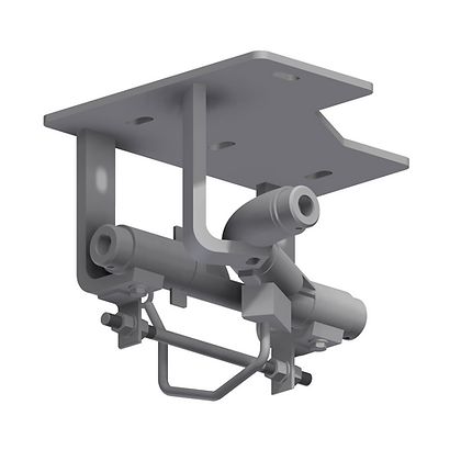60mm Tubular Rail 90° Switch